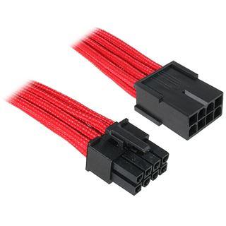 BitFenix 8-Pin EPS12V Verlängerung 45cm - sleeved rot/schwarz
