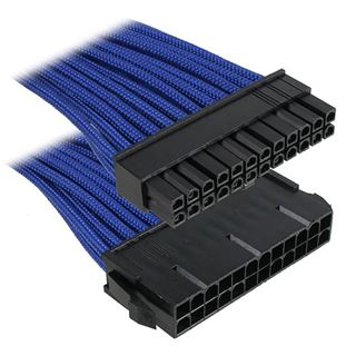 BitFenix 24-Pin ATX Verlängerung 30cm - sleeved blau/schwarz