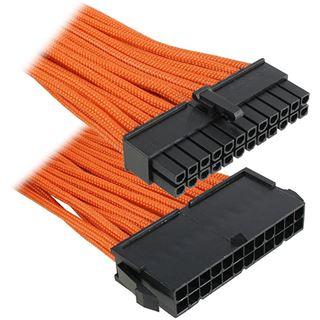 BitFenix 24-Pin ATX Verlängerung 30cm - sleeved orange/schwarz