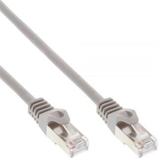 (€0,25*/1m) 40.00m InLine Cat. 5e Patchkabel F/UTP RJ45 Stecker auf RJ45 Stecker Grau