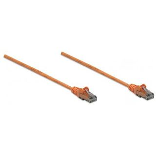 (€1,30*/1m) 3.00m Intellinet Cat. 6 Patchkabel U/UTP RJ45 Stecker auf RJ45 Stecker Orange