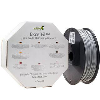 Voltivo ExcelFil 3D Druck Filament, ABS, 1,75mm - grau