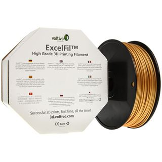 Voltivo ExcelFil 3D Druck Filament, ABS, 3mm - gold