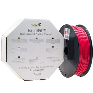 Voltivo ExcelFil 3D Druck Filament, ABS, 3mm - rot