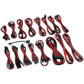 CableMod C-Series AXi, HXi, TX/CX/CS-M & RM Cable Kit - schwarz/rot