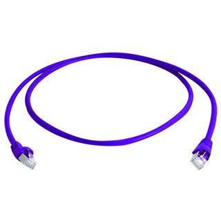 (€6,90*/1m) Telegärtner Cat. 6a Patchkabel S/FTP Violett