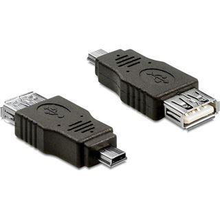 Delock USB Adapter A zu mini B Bu/St OTG