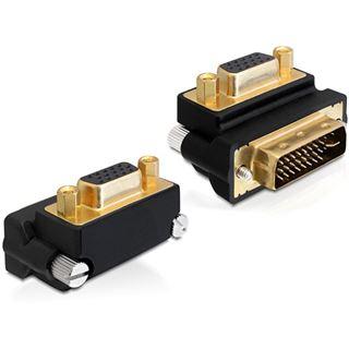 Delock DVI Adapter DVI(24+5) -> D-Sub15 St/Bu 270ø