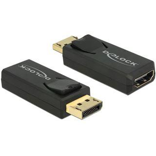 DisplayPort Delock Adapter DP -> HDMI 4K Passiv schwarz