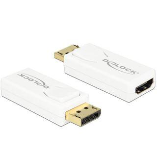 DisplayPort Delock Adapter DP -> HDMI 4K Aktiv weiß