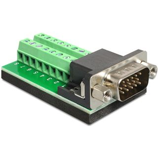 DeLOCK VGA Stecker auf Terminalblock 16 Pin