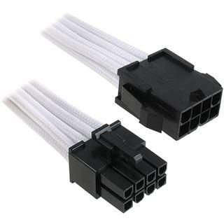 BitFenix 8-Pin EPS12V Verlängerung 45cm sleeved weiß/schwarz