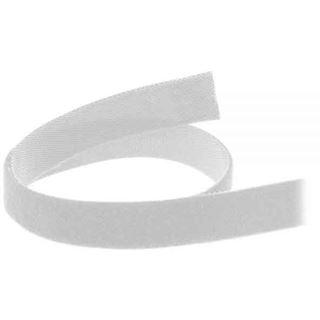 InLine 59934W Klettverschlussband L10m x 16mm weiß