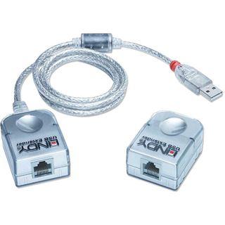 Lindy USB Extender bis 50m über Cat. 5 Kabel PREMIUM