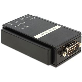 Delock Konverter Ethernet LAN auf RS232 Sub-D 9 Pin