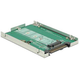 Delock Konverter U.2 Mini SAS HD SFF-8639 M.2 NGFF Key M