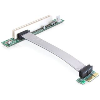 Delock Riser Karte PCI Express x1 zu PCI 32Bit 5 V