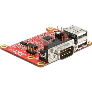 Delock Konverter Raspberry Pi USB 2.0 zu 2 x USB 2.0