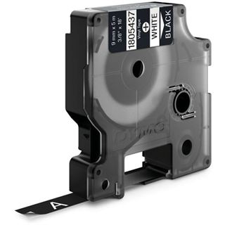 Dymo RHINO TAPE VINYL White / Black, 9mm x 5.5m