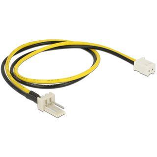 DeLOCK Kabel Power Molex 3 Pin Stecker > 2 Pin Buchse 30 cm