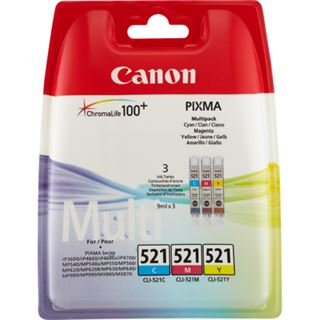 Canon CLI-521 PHOTO VALUE PACK TINTE C/M/Y/BK + 50BL.PP-201 10x15CM
