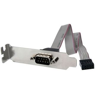 Startech 9-pin seriell Stecker auf 10-pin IDC Mainboard Header Slotblech-Adapter Low Profile