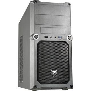 Cougar MG100 5SS8 Mini Tower ohne Netzteil schwarz