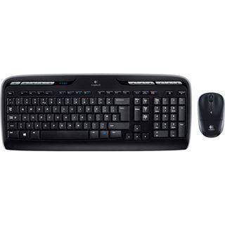 Logitech Desktop MK330 Wireless [DE] schwarz