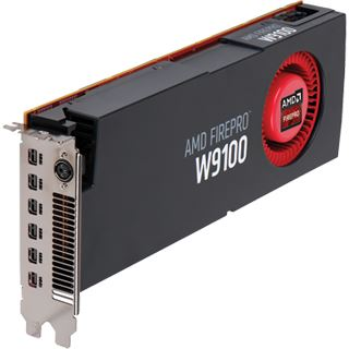 16384MB AMD FirePro W9100 Aktiv PCIe 3.0 x16 (Retail)