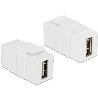 DeLOCK Keystone Modul USB2.0 A Buchse auf Easy USB2.0 A Buchse