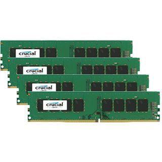 32GB Crucial CT4K8G4DFS8213 DDR4-2133 DIMM CL15 Quad Kit