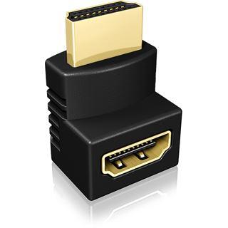 ICY BOX IB-CB009-1 HDMI Winkeladapter 2-Stück verschiedene Ausrichtungen