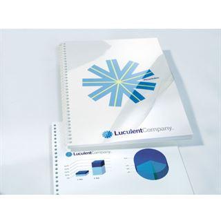 GBC Einbanddeckel HiClear, DIN A4, PVC, 0,15 mm, glasklar