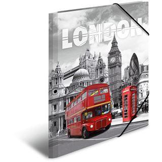 """Herma Eckspannermappe """"Trendmetropolen London"""", PP, A4"""