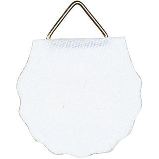 """Herma Bildaufh""""nger Durchmesser 30 mm, Shirting, weiß"""