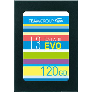 "120GB TeamGroup L3 EVO 2.5"" (6.4cm) SATA 6Gb/s TLC Toggle (T253LE120GTC101)"