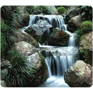 Fellowes GmbH Maus Pad EARTH, Motiv: Wasserfall, rechteckig