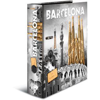 "HERMA Motivordner ""Barcelona"", DIN A4, Rückenbreite: 70 mm"