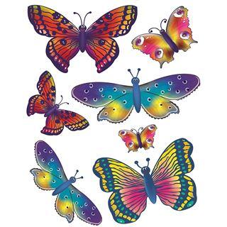 "HERMA Fensterbild ""Schmetterlinge"", DIN A4"