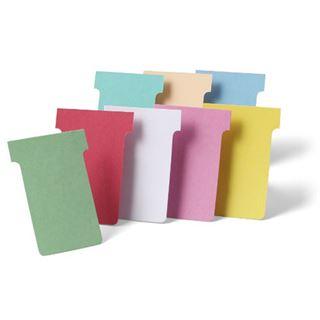 nobo T-Karten, Größe 2 / 60 mm, 170 g/qm, beige