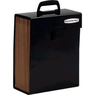 Fellowes Fächertasche Handifile hoch, 19 Fächer, schwarz