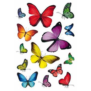 """HERMA Sticker DECOR """"Schmetterlingsvielfalt"""""""