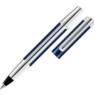 "Pelikan Tintenroller ""Pura 40"", blau/silber"