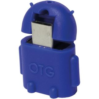 LogiLink USB 2.0 OTG Adapter, blau