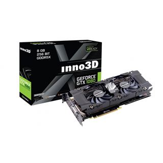 8GB Inno3D GeForce GTX 1080 HerculeZ Twin X2 Aktiv PCIe 3.0 x16 (Retail)