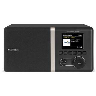 TechniSat DigitRadio 300 C DAB+/DAB und UKW Radio schwarz