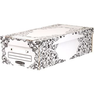 Fellowes GmbH BANKERS BOX STYLE Unterbett-Box Premium, klein