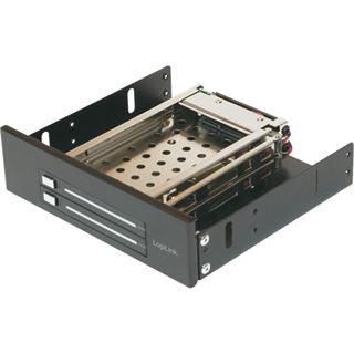 """LogiLink SATA Wechselrahmen für 2,5"""" Festplatten, schwarz"""