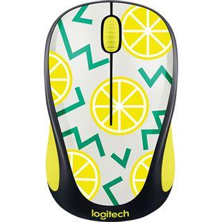 Logitech M238 Wireless Maus lemon