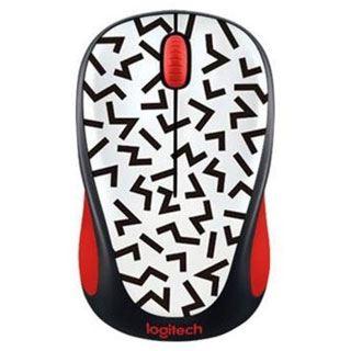 Logitech M238 Zigzag Red USB schwarz mit Motiv (kabellos)